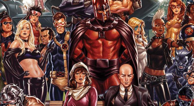 x-men nuovo logo marvel fumetti hickman