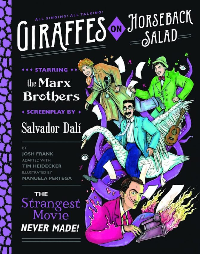 Giraffes dali fratelli marx graphic novel