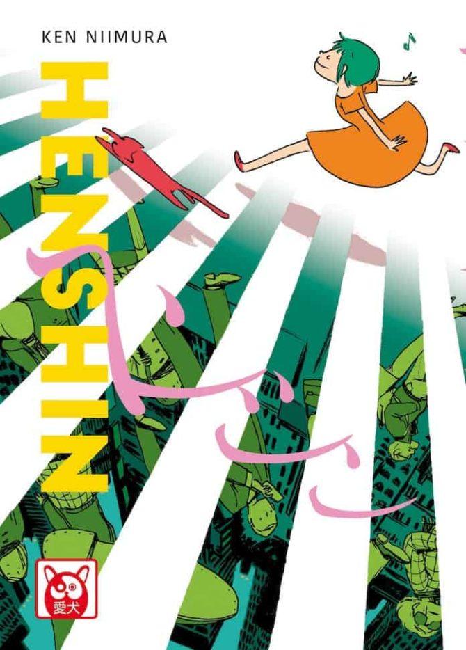 Henshin Ken Niimura fumetti bao napoli comicon 2019