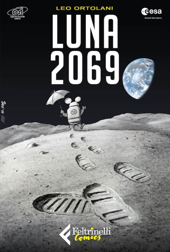Luna 2069 rat man ortolani feltrinelli fumetto