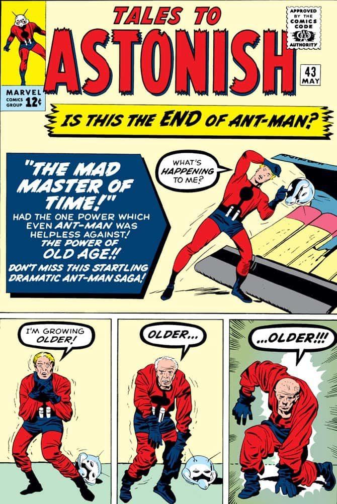 ant-man jack kirby avengers endgame fumetti