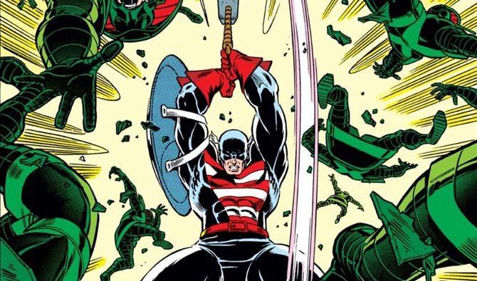 capitan america mjolnir avengers endgame fumetti