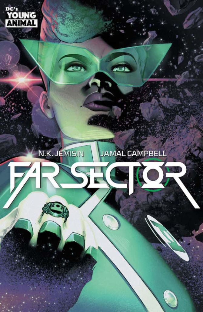 far sector nuovi fumetti young animal dc comics