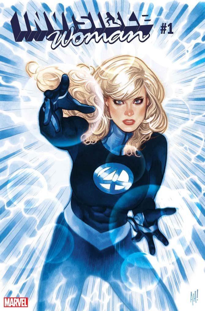 invisible woman donna invisibile fantastici quattro nuovi fumetti marvel