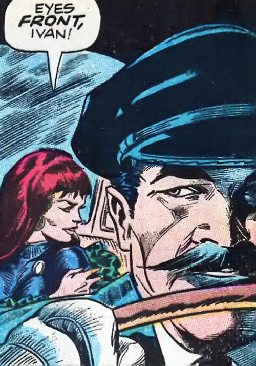 ivan petrovich vedova nera avengers endgame fumetti