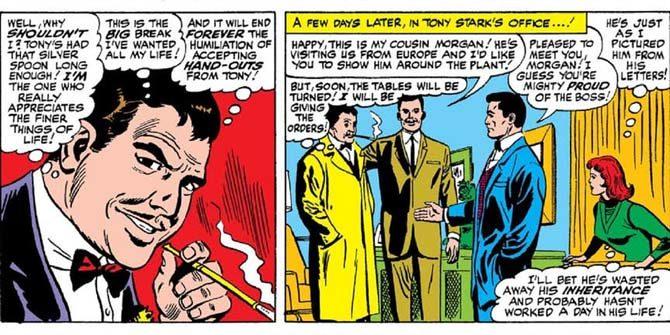 morgan stark iron man avengers endgame fumetti
