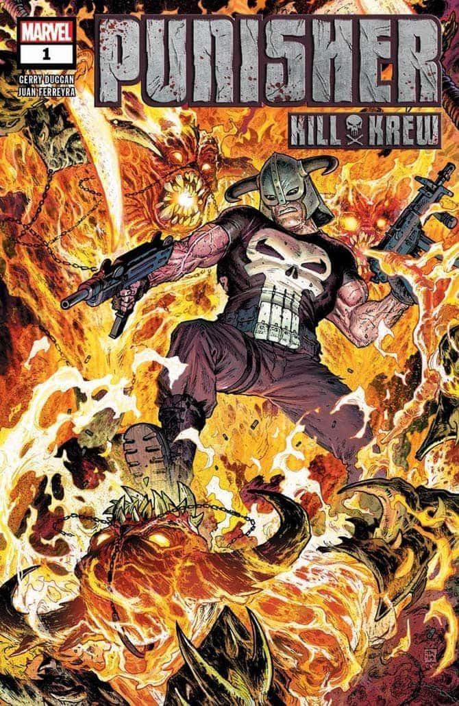 punisher kill krew nuovi fumetti marvel