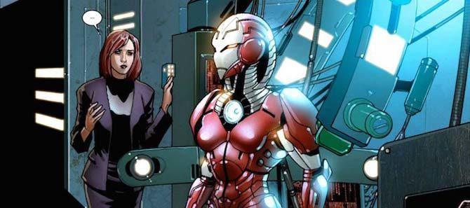 rescue iron man avengers endgame fumetti