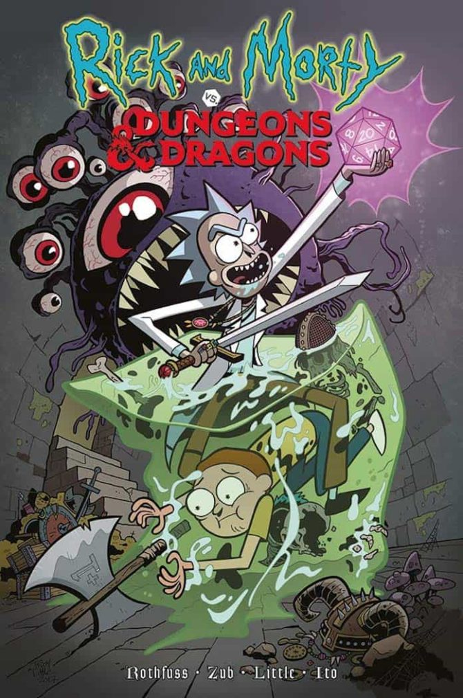 rick morty dungeons dragons