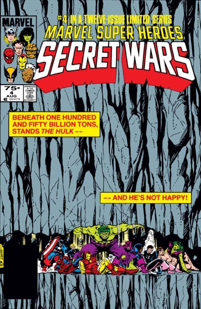 secret wars hulk avengers endgame fumetti