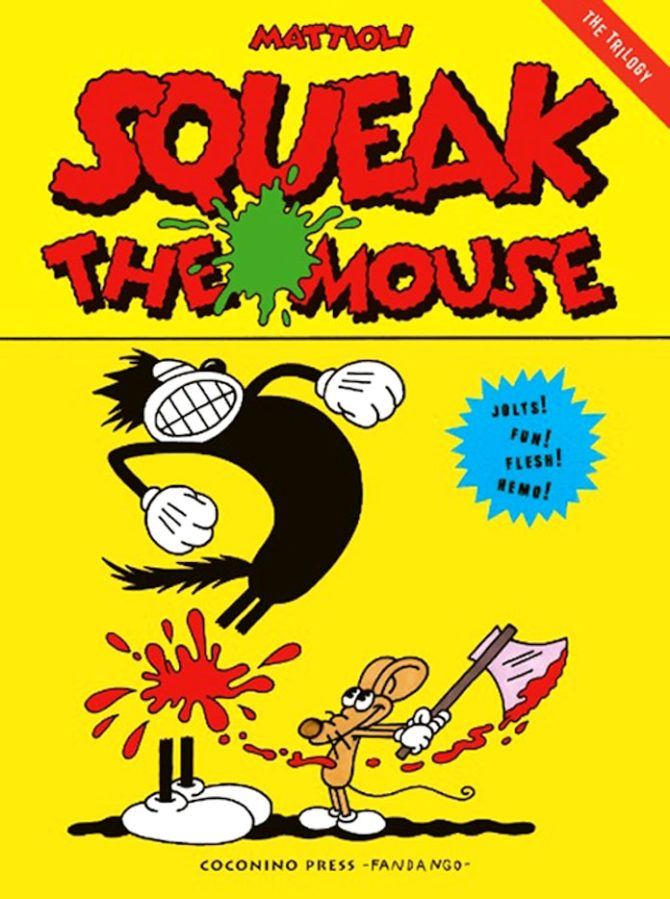 radar fumetti squeak the mouse mattioli
