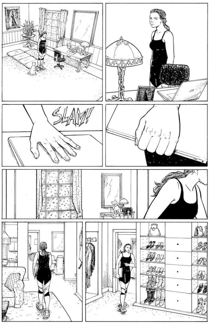 Le prime 18 pagine di strangers in paradise 25 anni dopo - Pagine di ringraziamento e divertimento ...
