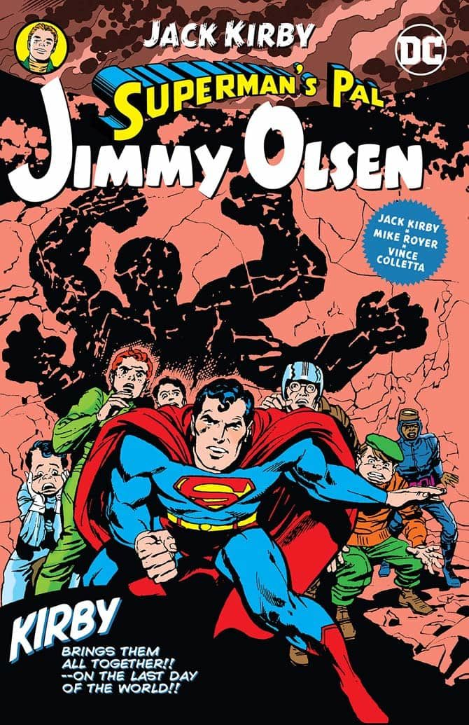 superman's pal jimmy olsen jack kirby dc comics fumetti 11 4 19