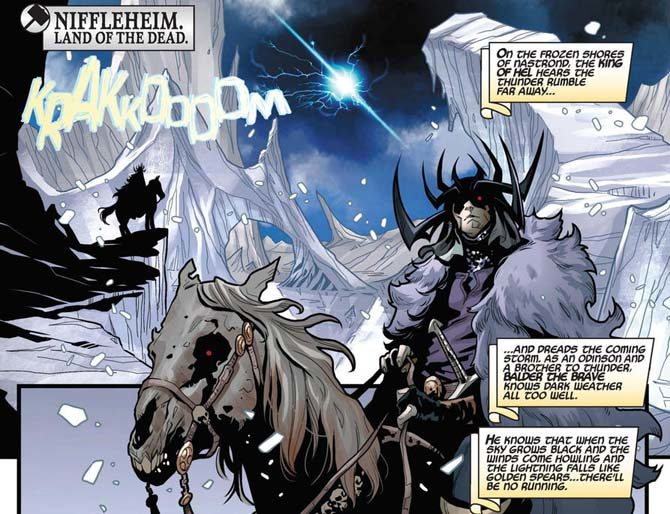 thor dieci regni asgard war of the realms niffleheim