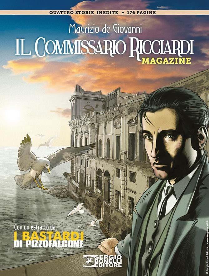 """Un po' di pagine da """"Il Commissario Ricciardi Magazine 2019"""" - Fumettologica"""
