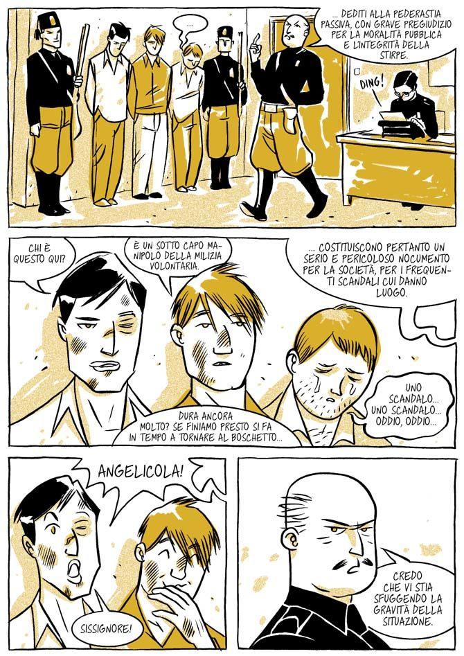 in italia sono tutti maschi de santis colaone graphic novel oblomov