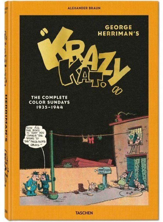 """Tutte le domenicali di """"Krazy Kat"""" in un volume Taschen - Fumettologica"""