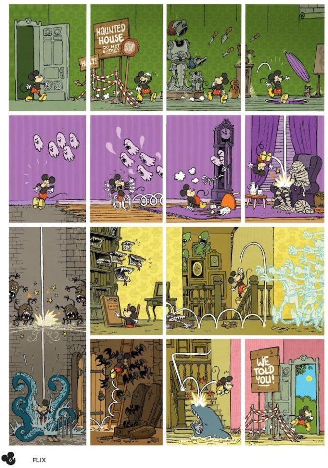 Il nuovo topolino francese è una storia realizzata da 50 autori