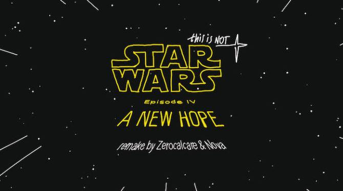 zerocalcare nova star wars