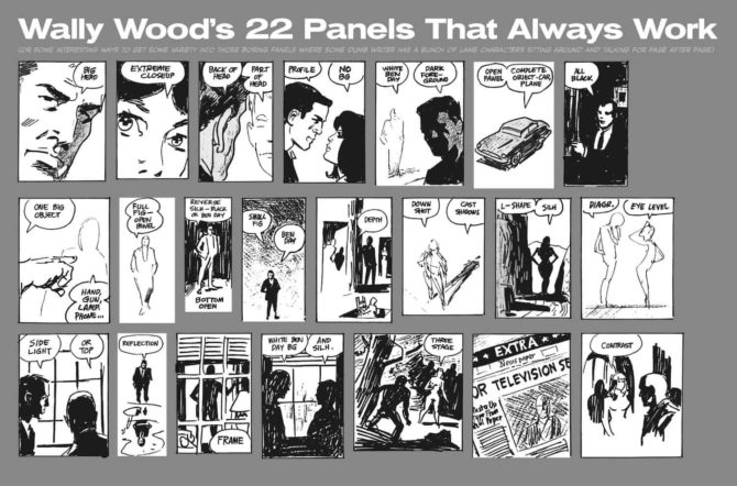 wally wood 22 panels that always work