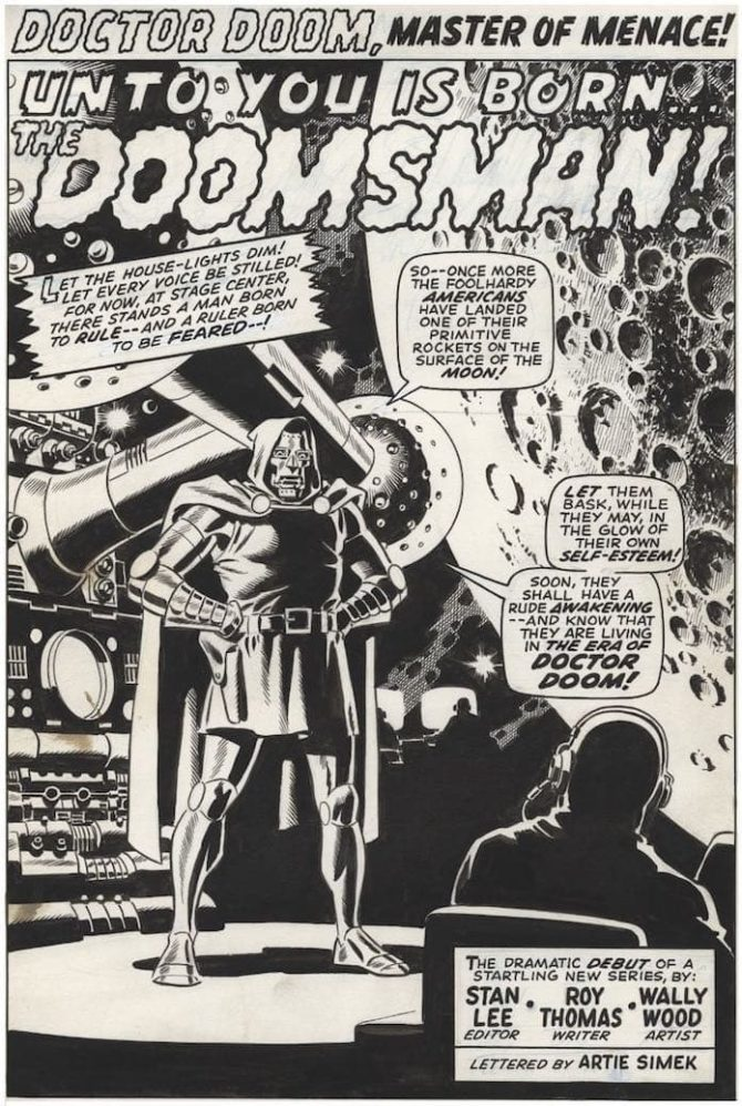 wally wood doctor doom