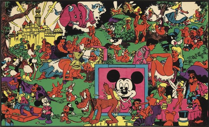 wally wood Disney Memorial Orgy