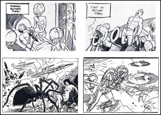 wally wood mars attack
