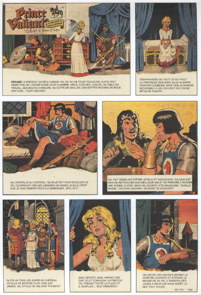 wally wood prince vailant