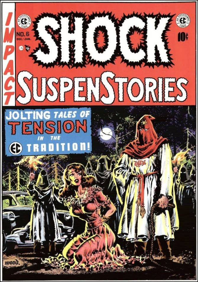 wally wood shock suspenstories ec comics