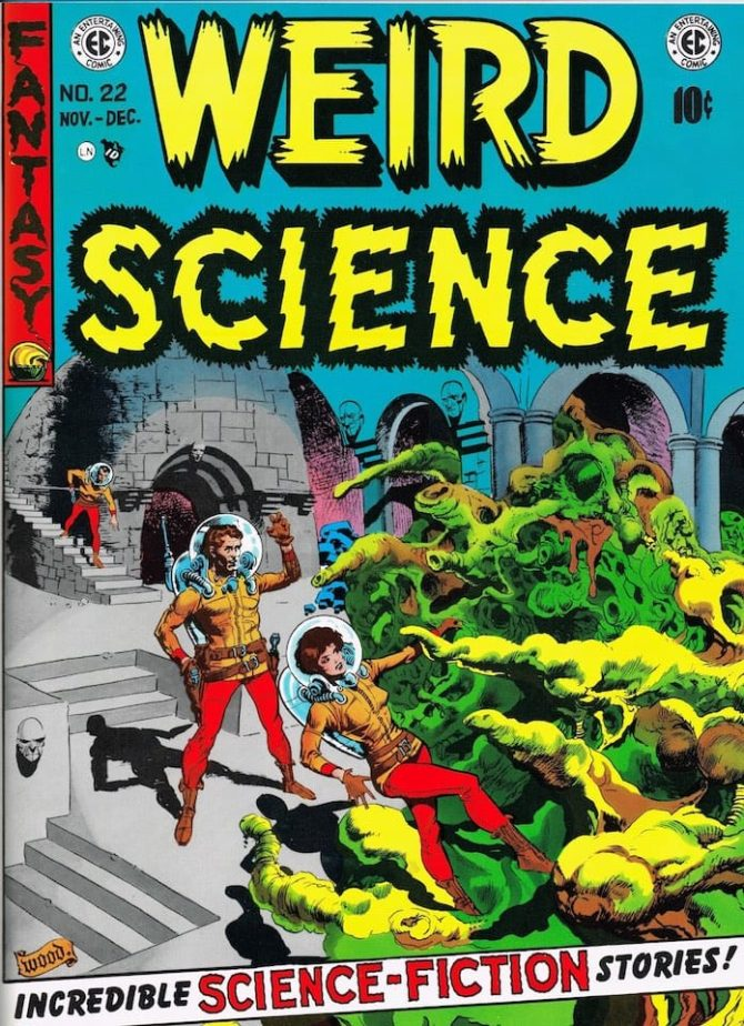 wally wood weird science