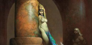 Egyptian Queen frank frazetta