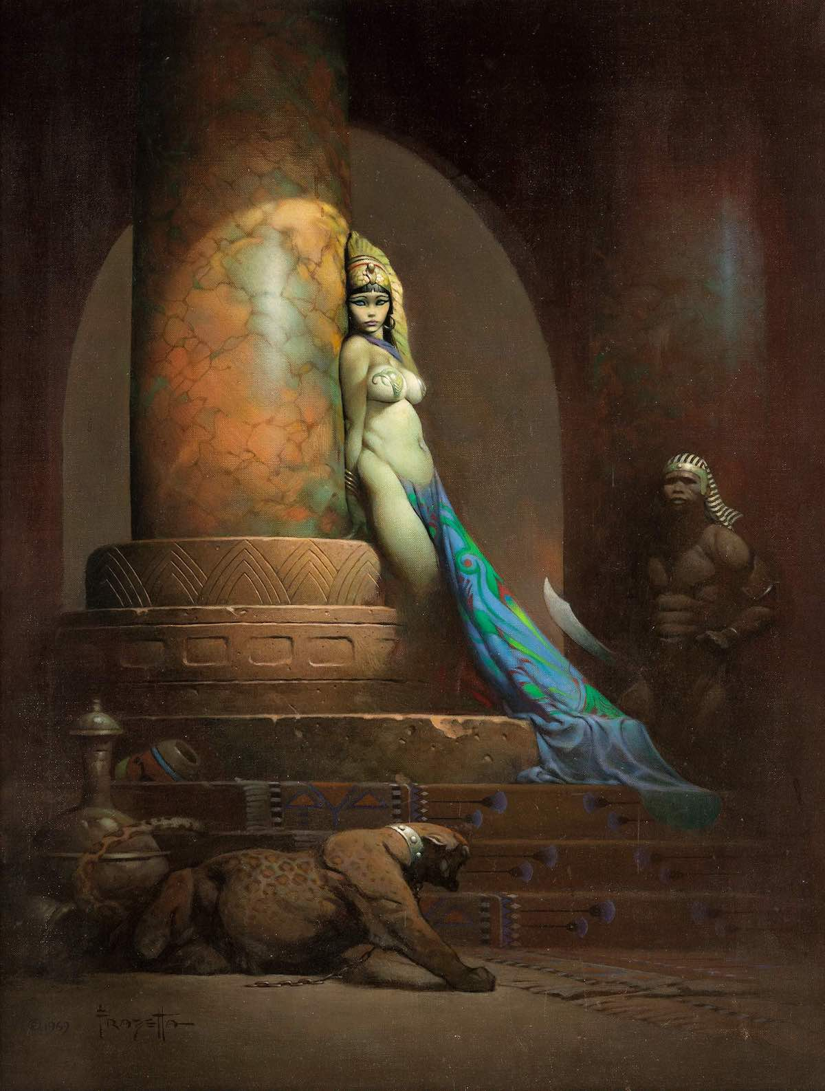 Egyptian Queen frank frazetta record