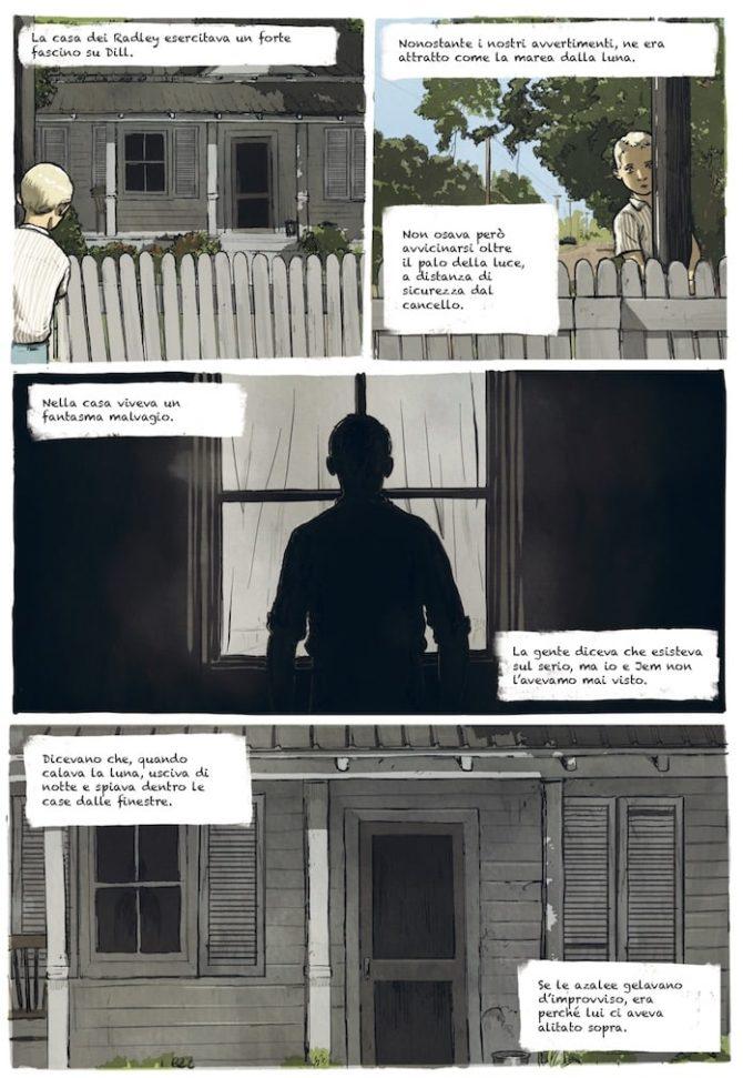buio oltre siepe fumetti