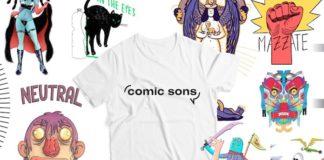 comic sons t-shirt fumetti