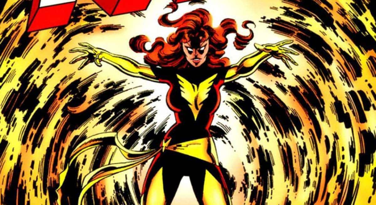 fenice x-men fumetto marvel dark phoenix