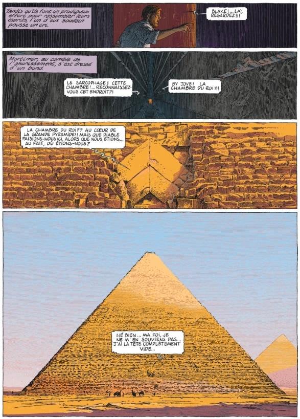 blake mortimer schuiten dernier pharaon
