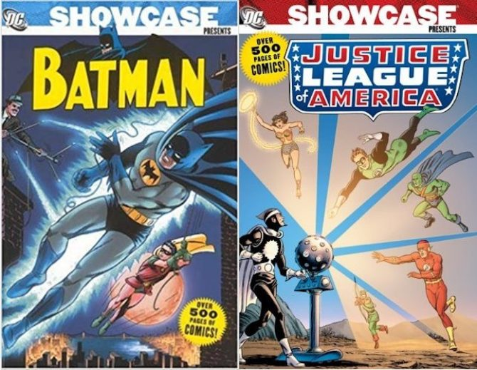 editoriale cosmo showcase dc comics