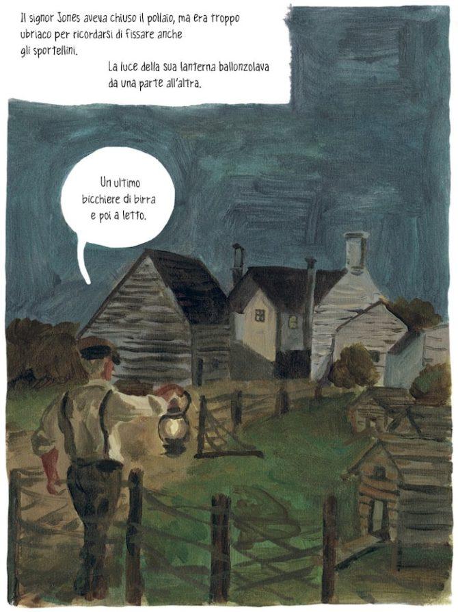 orwell fattoria animali fumetti