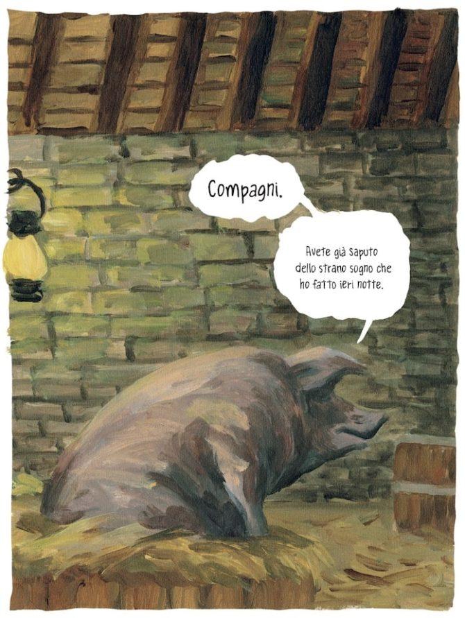 La fattoria degli animali di Orwell, a fumetti - Fumettologica
