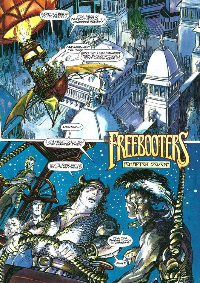 barry windsor-smith freebooters storyteller