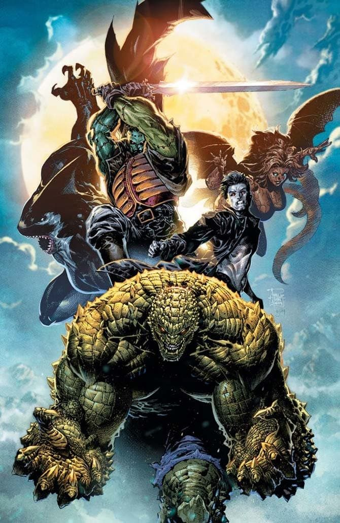 gotham city monsters nuovi fumetti dc comics