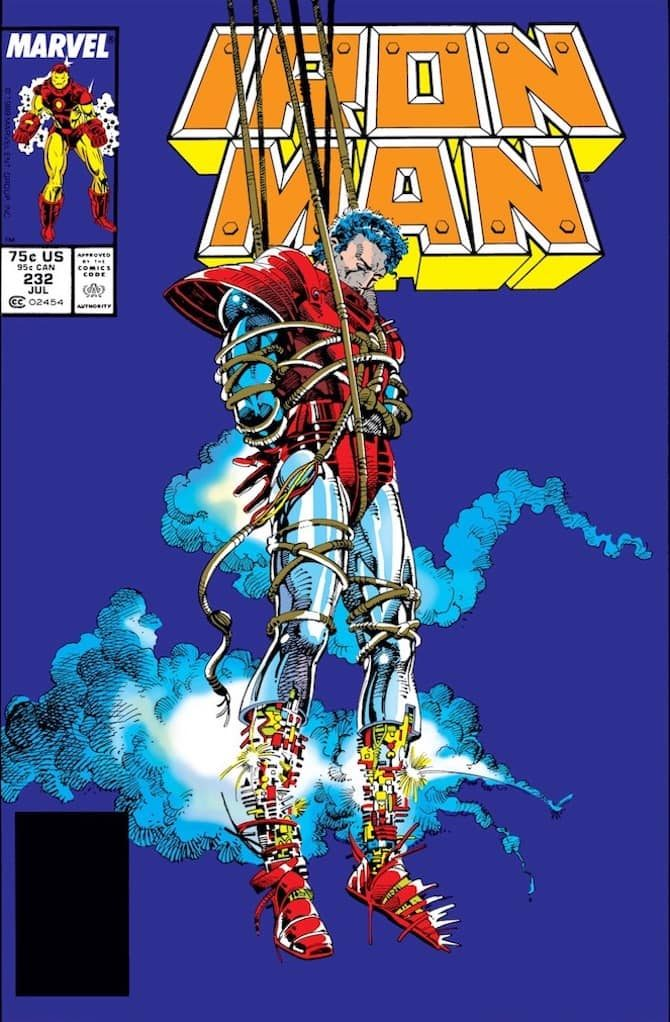 barry windsor-smith iron man guerra armature