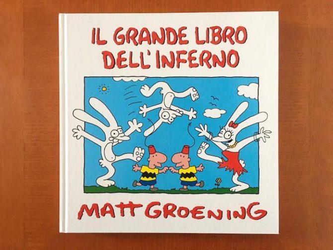 grande libro inferno matt groening fumetto coconino Life in Hell