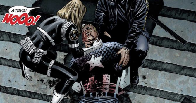 capitan america morti fumetti marvel