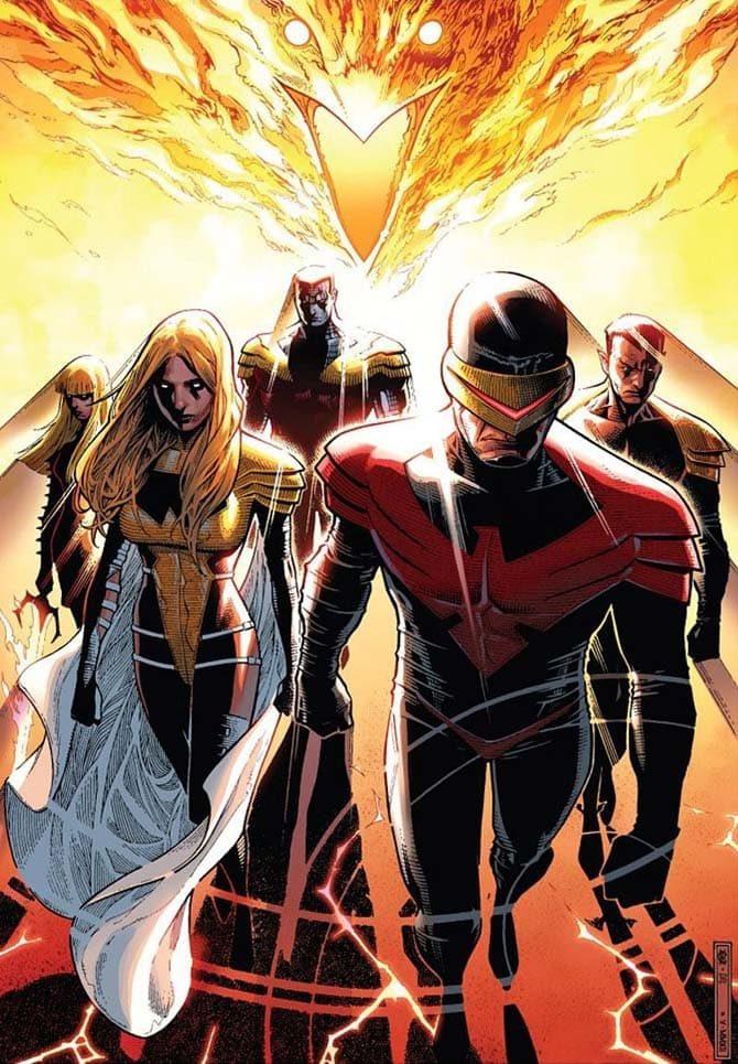 phenix five ciclope fenice personaggi marvel fumetti