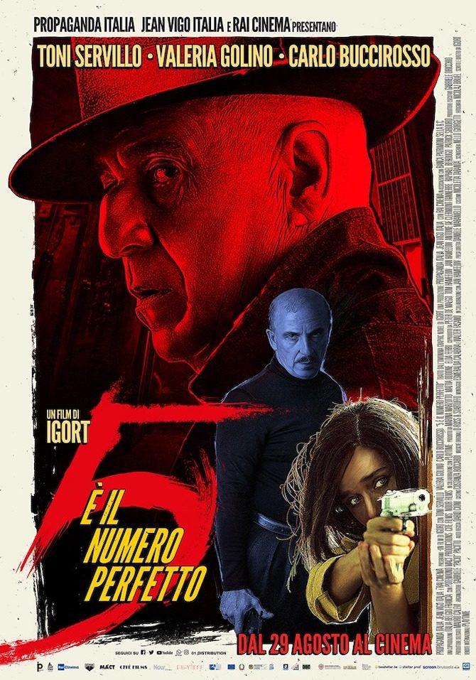 poster 5 numero perfetto film igort
