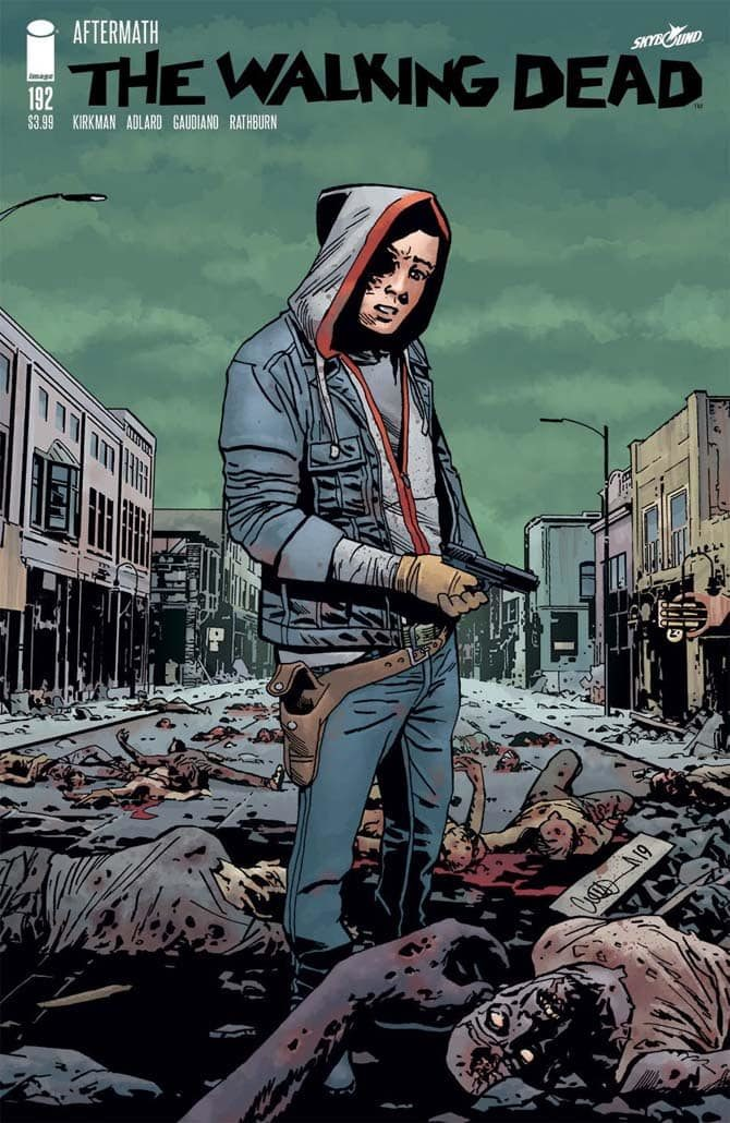 rick grimes morte walking dead fumetto