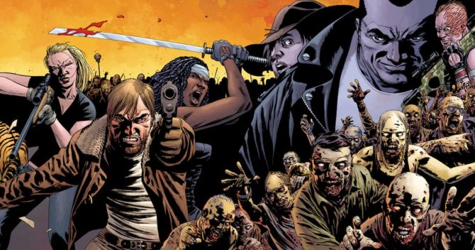 walking dead fumetto
