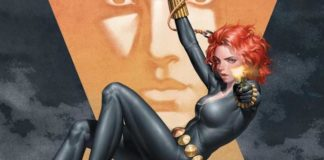 web of black widow marvel fumetto