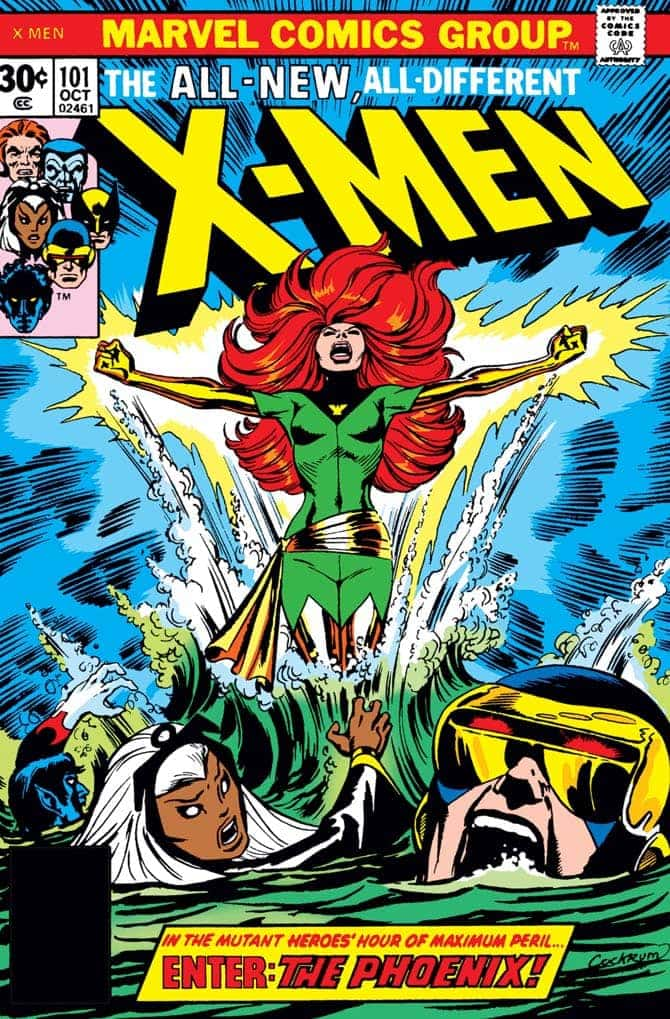 fenice x-men fumetto marvel
